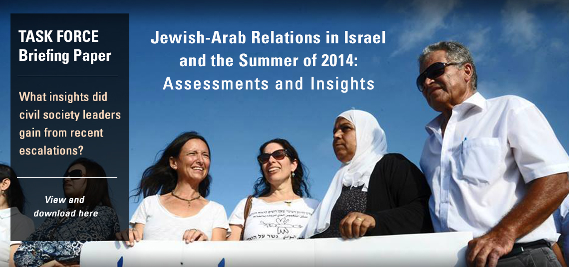 Jewish-Arab Relations in Israel and the Summer of 2014: Assessments and Insights